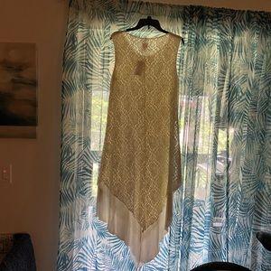 Beautiful off white lace chicos dress